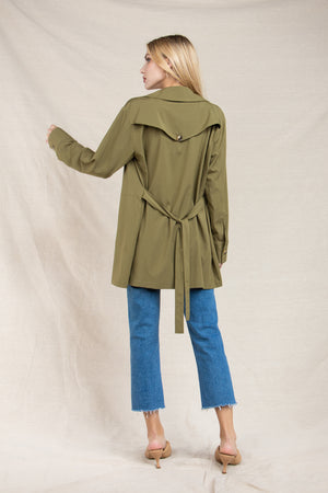 EVERLY TRENCH JACKET