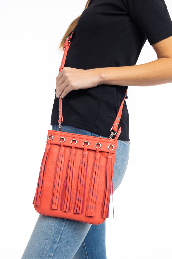 BIANCA MINI FRINGE BAG