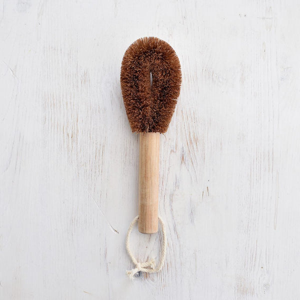 Bamboo Coconut Husk Dish Brush