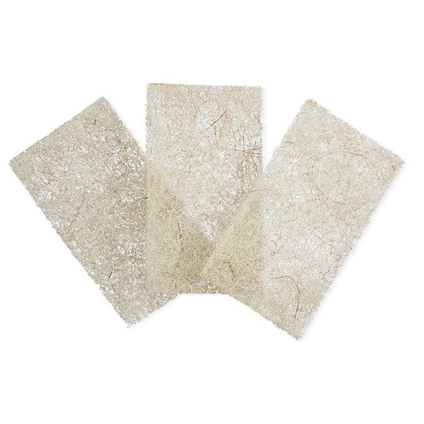 Coconut Scour Pads- Pack of 3