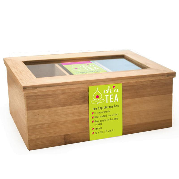 Tea Bag Storage Box