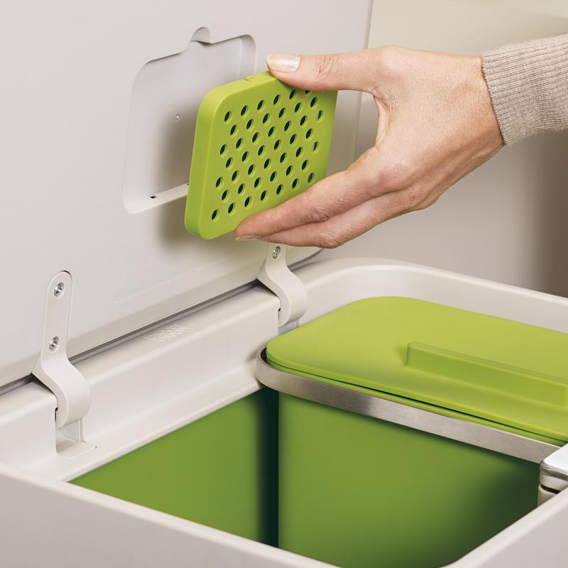 Food Waste Caddy Carbon Filter 2pk.