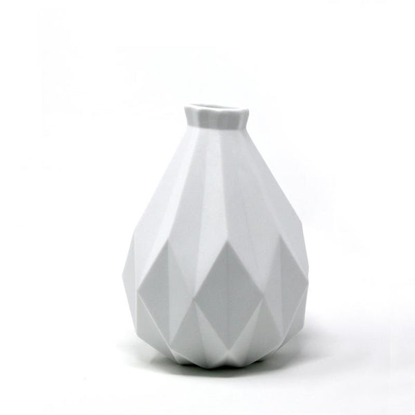 KARTHA Multi-Faceted Vase