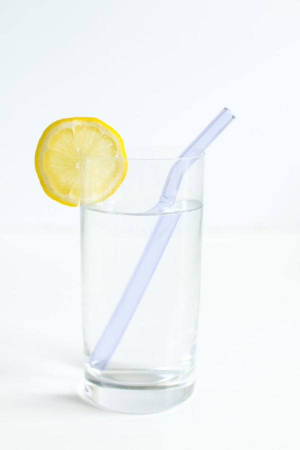 Bent Glass Drinking Straw (set of 4)