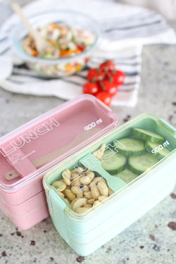 3 Layer Stacked Bento Box