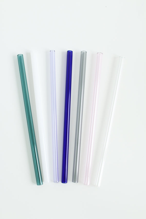 Individual Glass Drinking Straws- Straight