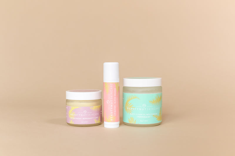 Glow Up Bundle - Pit Refresh, Lip Butter & Minty Clean Oil Pull