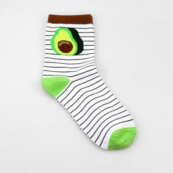 Avocado Socks- Stripped