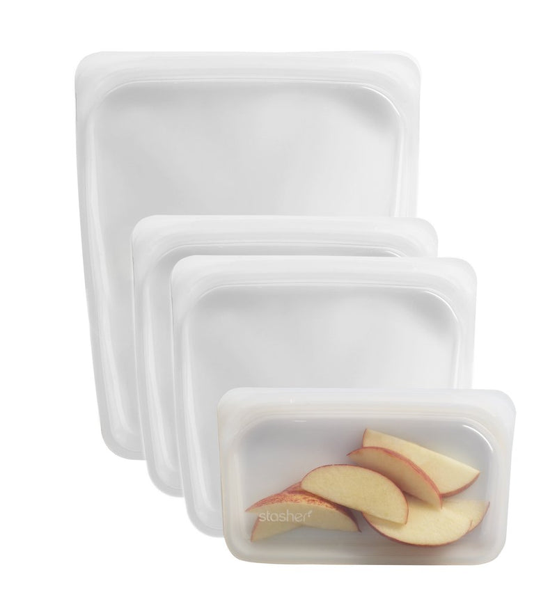 Reusable Silicone Storage Bags - Multi Pack