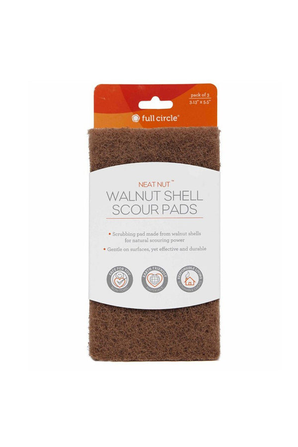 Walnut Shell Scour Pads
