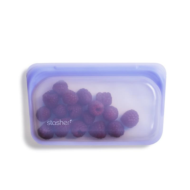 Silicone Reusable Storage Bags- Snack Size
