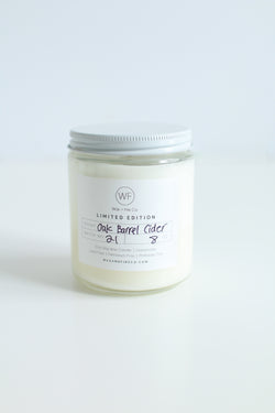 Oak Barrel Cider Soy Candle