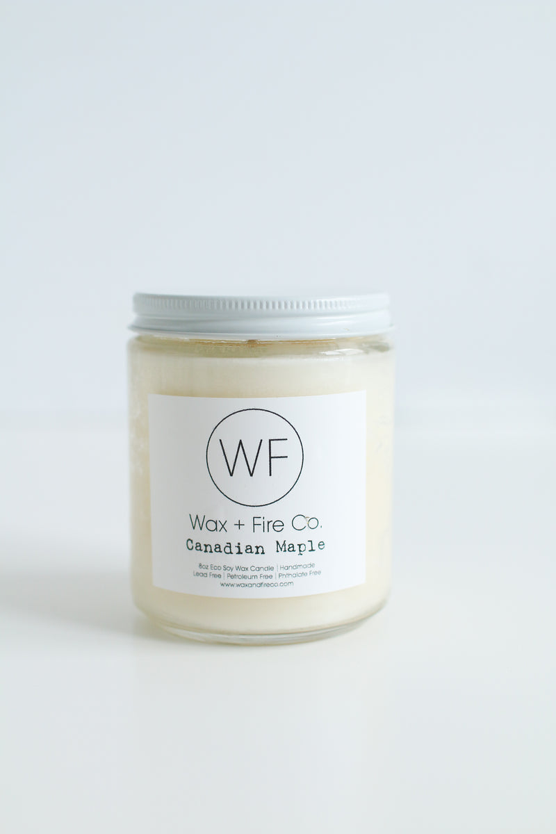 Canadian Maple Soy Candle