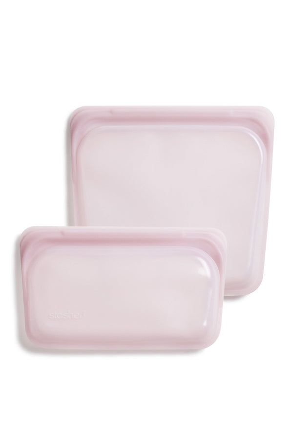 Silicone Reusable Storage Bag Duo