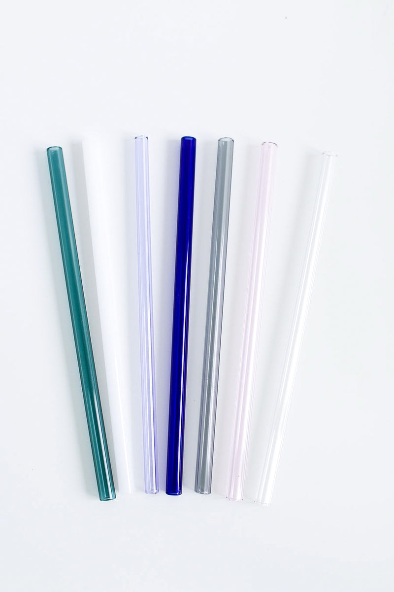 Glass Drinking Straw (set of 4)