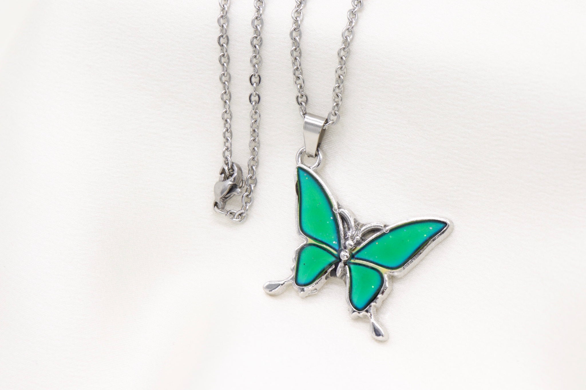Mood Butterfly Necklace