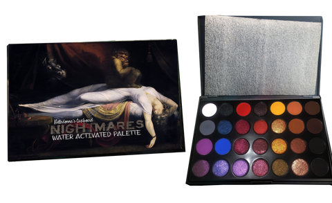NIGHTMARES Water Activated Palette