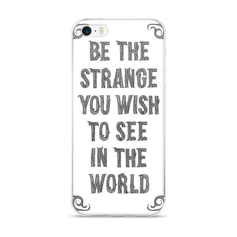 Strange IPhone case
