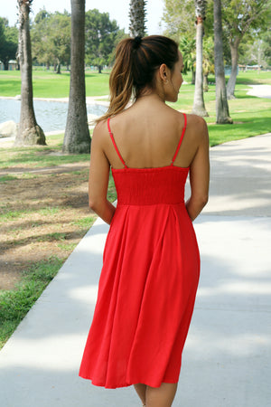 Roselyn Midi Dress