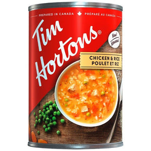 Tim Hortons Chicken & Rice Soup 540ml