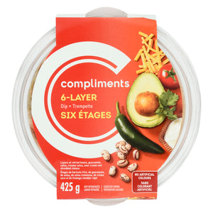 Compliments 6-Layer Dip 425g