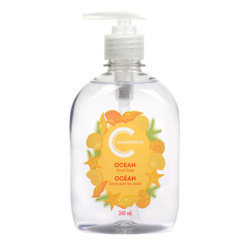 Compliments Hand Soap Ocean 340ml