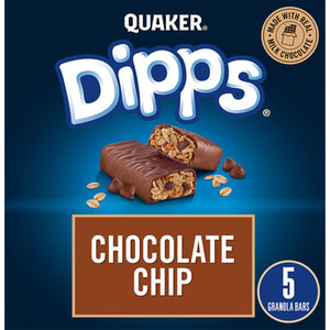 Quaker Harvest Chocolate Chip Dipps Bar 156g