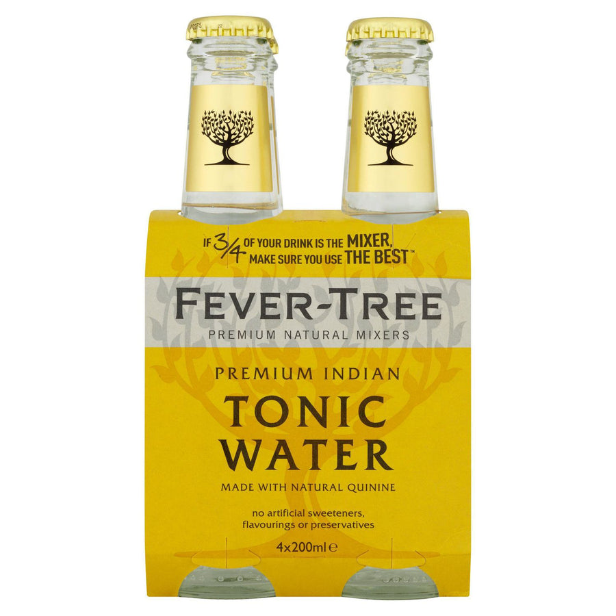 Fever Tree Tonic Water 200ml x 4
