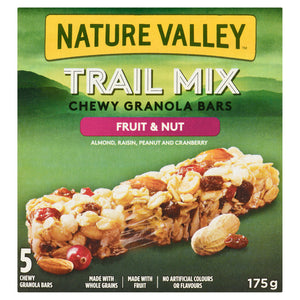 Nature Valley Fruit & Nut Chewy Trail Granola Bar 175g