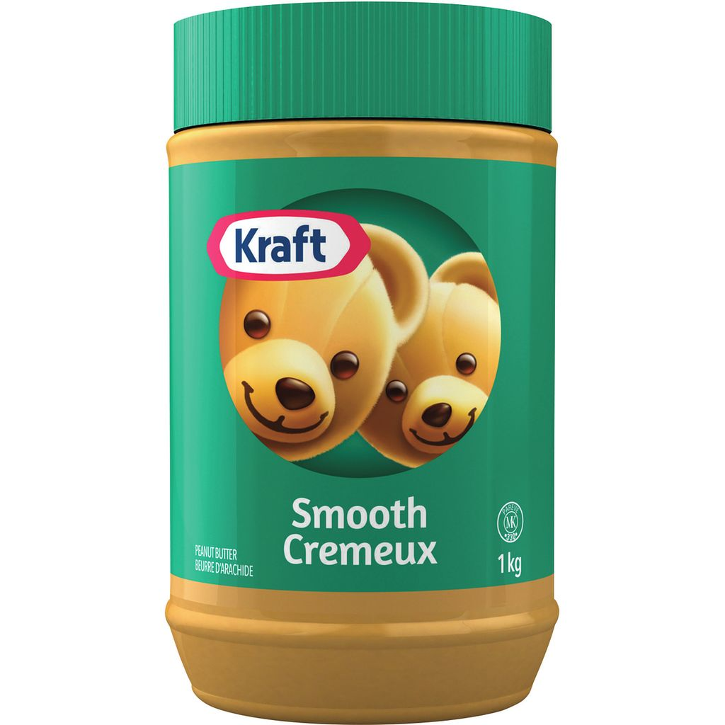 Kraft Smooth Peanut Butter 1kg