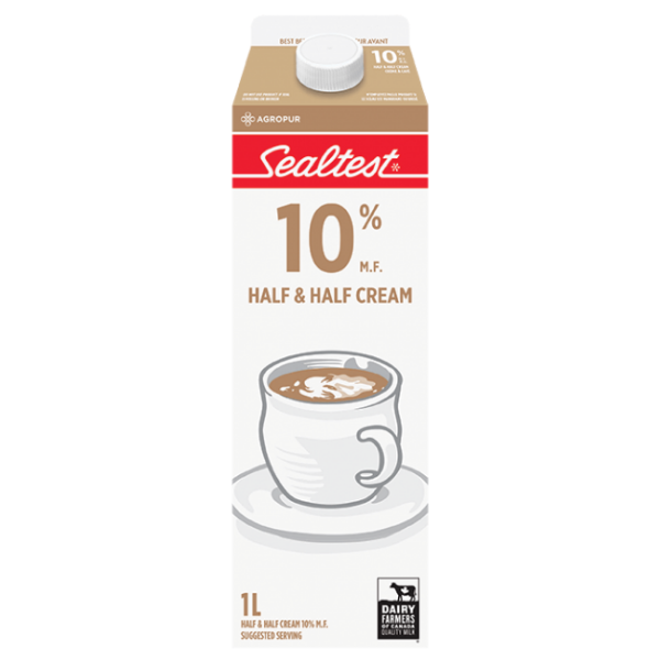 Sealtest Half & Half Cream 1l
