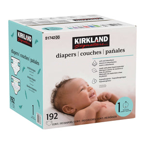 Kirkland Diapers Size 1 192ct