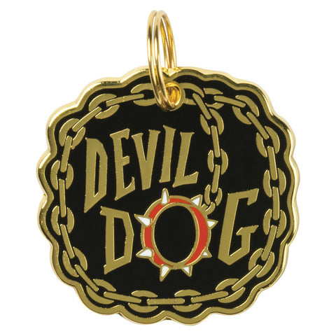 Pet Collar Charm- Devil Dog