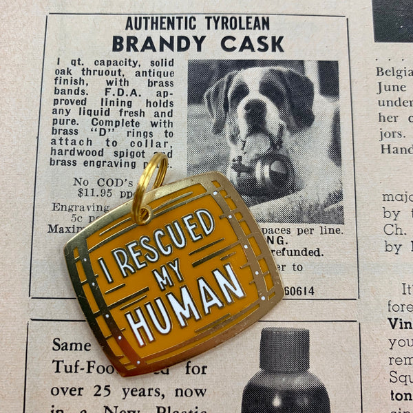I Rescued My Human Pet Charm