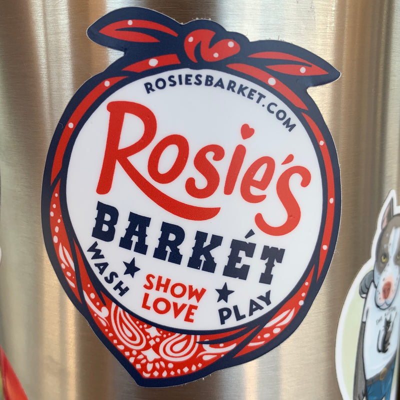 Rosie's Barket Sticker