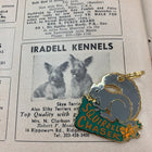 Pet Collar Charm- Squirrel Chaser