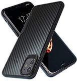 iPhone 11 Case | 10Ft. Drop Tested | Carbon Case | Ultra Slim | Lightweight | Scratch Resistant | Wireless Charging | Compatible with Apple iPhone 11 - Black