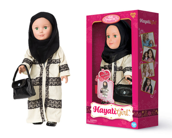 Abaya Set Doll  by Hayati Girl