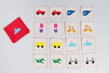 Transportation Memory Game by Zeki Learning