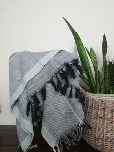 Mina Handwoven Cotton Throw - Artisan Village Design