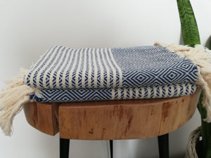 Diamond Stripe Hand Towel 2 pieces - Artisan Village Design