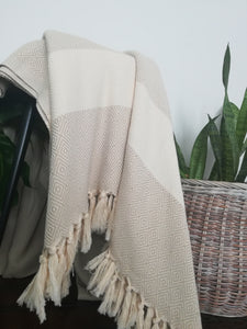 Istanbul  Blanket Diamond Weave -5 colors - Artisan Village Design