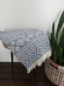 Galata  Tribal Double Sided Throw -3 colors - Artisan Village Design
