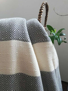 Istanbul  Blanket Diamond Weave -4 colors