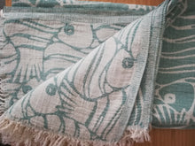 Fun  Fish Double sided Towel  3 colors - Artisan Village Design