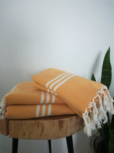 Bide Handwoven Turkish Towel - Artisan Village Design