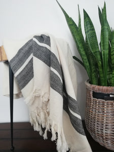 Mila Handwoven Herringbone Throw - 5 colors - Artisan Village Design