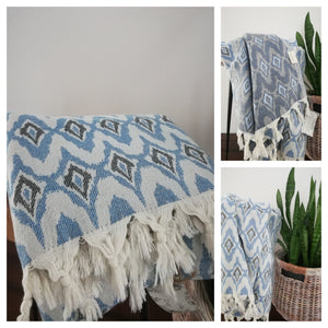 Ikat Turkish Towel - Artisan Village Design