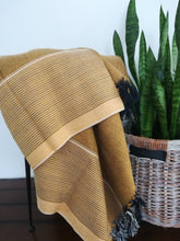Kas Mustard Yellow Handwoven Throw / 2 colors