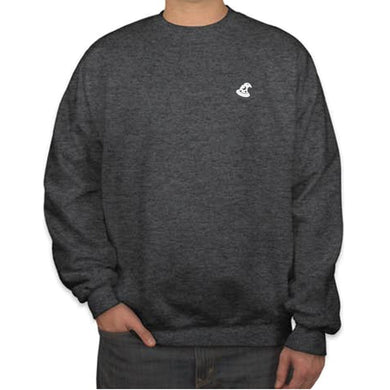 CREW NECK SWEATER - GREY